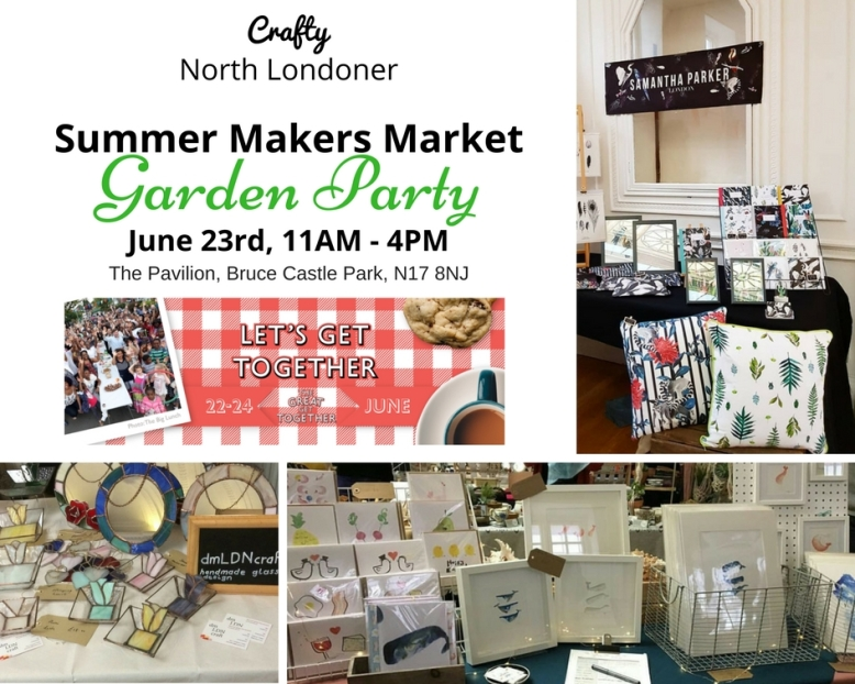 CraftyNoLo Summer Market & Garden Party